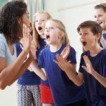 children acting shocked