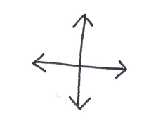 Jade Blue Crossed Continuums