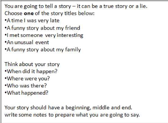 a funny story to tell