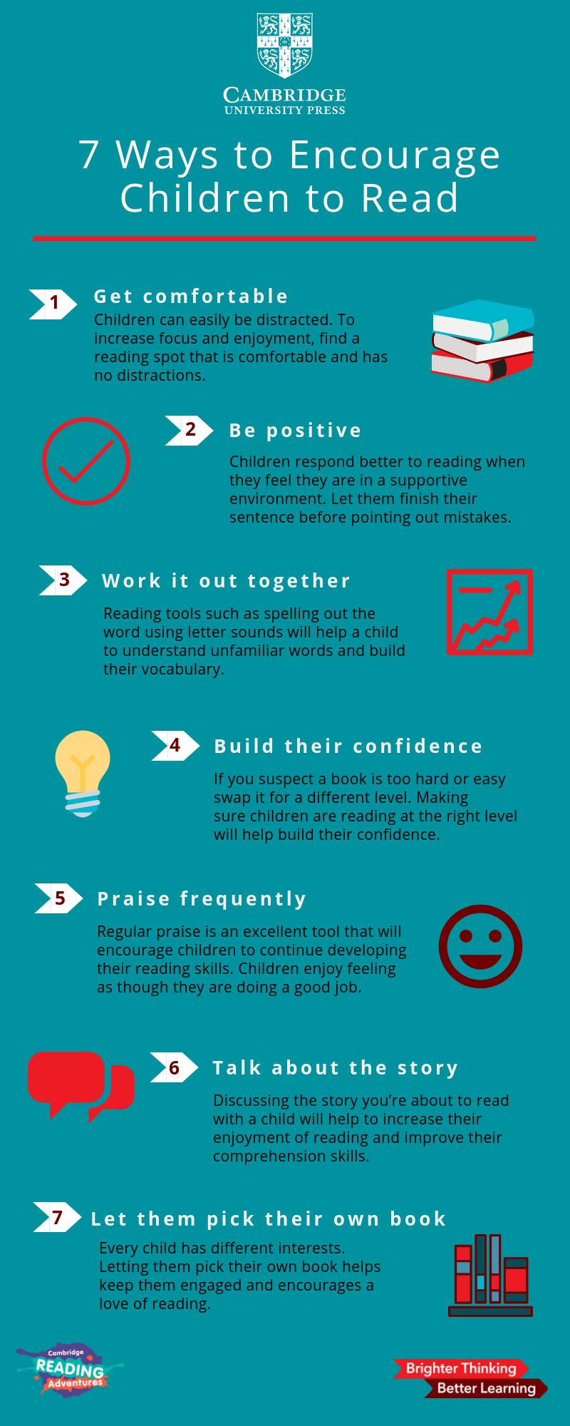 encourage children to read