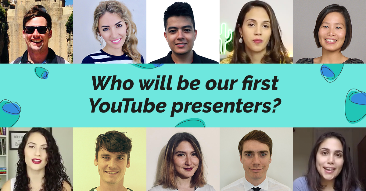 Vote for your favourite YouTube presenter