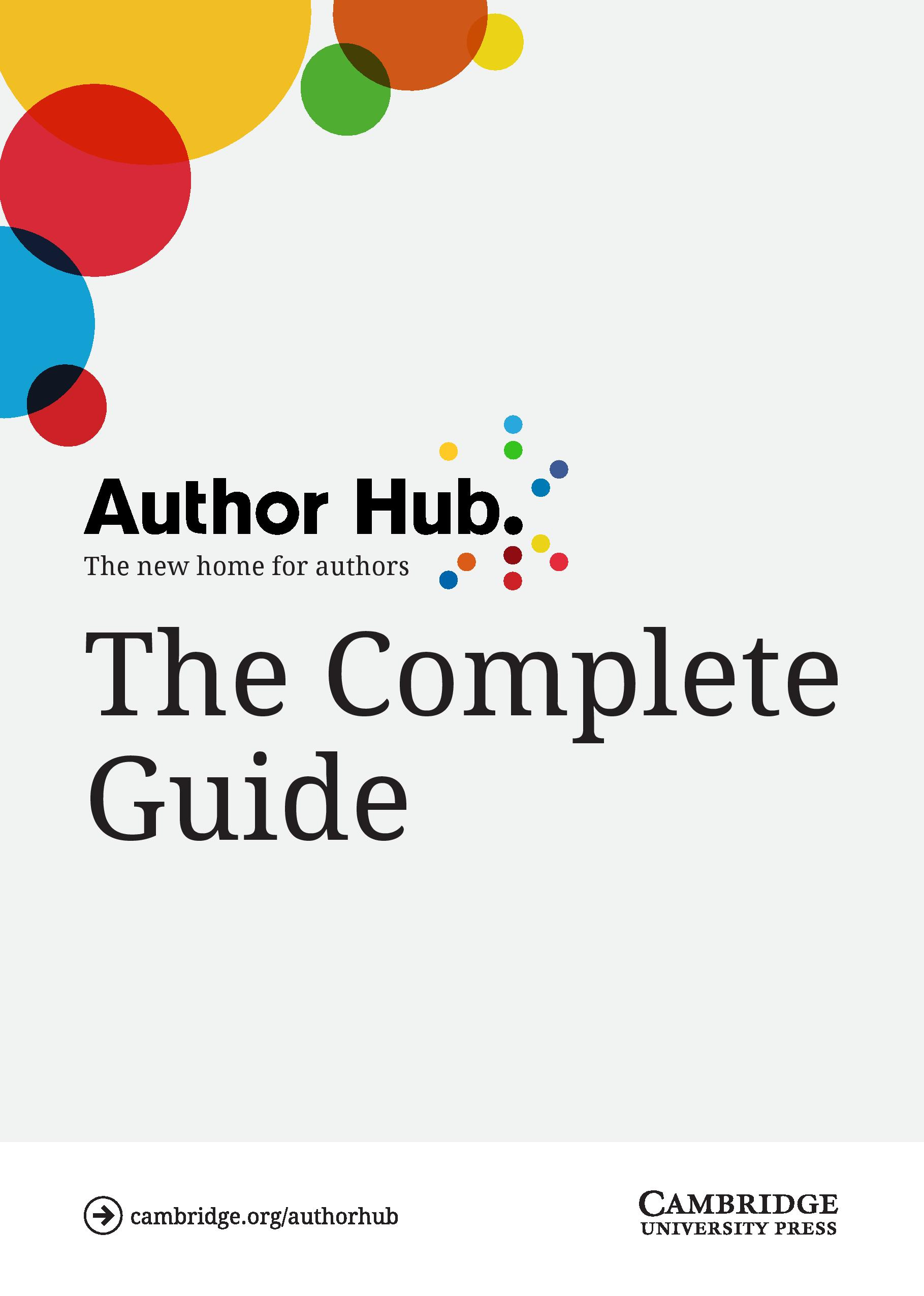 The Complete Guide to Author Hub