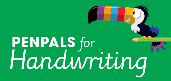 Penpals for Handwriting banner header
