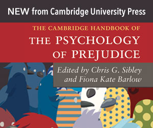 cover of The Cambridge Handbook of the Psychology of Prejudice