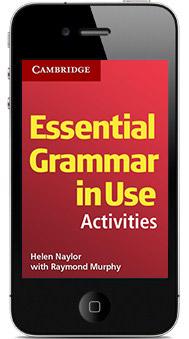 Essential grammar use 3rd edition | Apps | Cambridge University Press