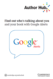 Find out who's talking about you and your book with Google Alerts