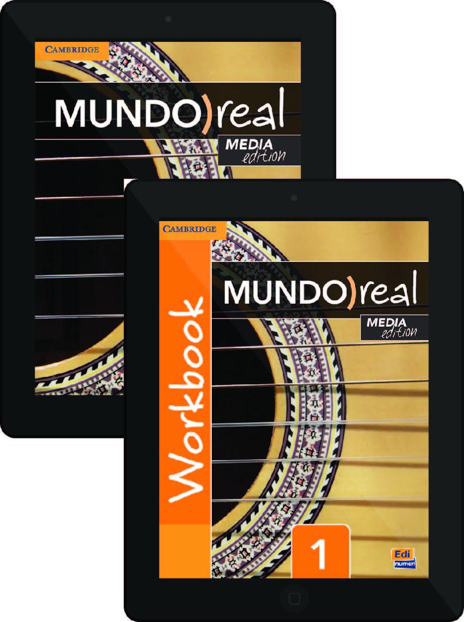 Workbooks workbook in spanish three years : Cambridge Spanish :: Mundo Real Media Edition