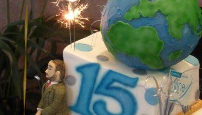 CJO 15 Year Anniversary Cake