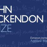John Ockendon Prize 2016: Winner Announced