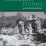 Always something new from Anatolian Studies!