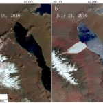 Two glaciers collapse in western Tibet