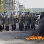 Mobile armed mobs in deadly riots