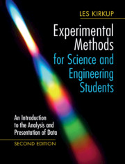 Experimental Methods for Science and Engineering Students An Introduction to the Analysis and Presentation of Data