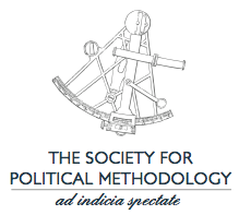 Political Methodology logo tall