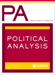 Political Analysis Cover