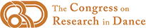 Congress on Research on Dance Logo Responsive