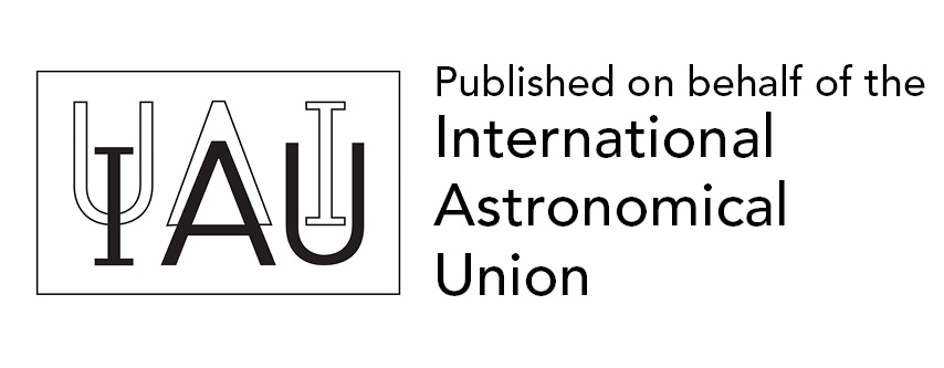 Published on behalf of the International Astronomical Union