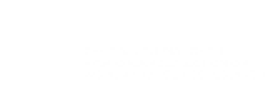 APSA Logo - Section on Women and Politics Research