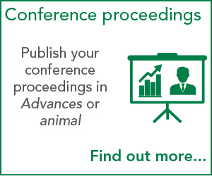 Publish your conference proceedings in Advances