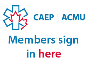 CAEP log in button