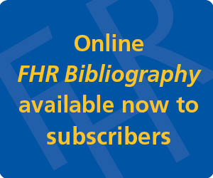 Financial History Review Bibliography