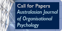 Australasian Journal of Organisational Psychology - Call for Papers