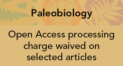 Paleobiology open access fee waived on selected articles