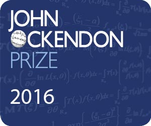John Ockendon Prize in European Journal of Applied Mathematics