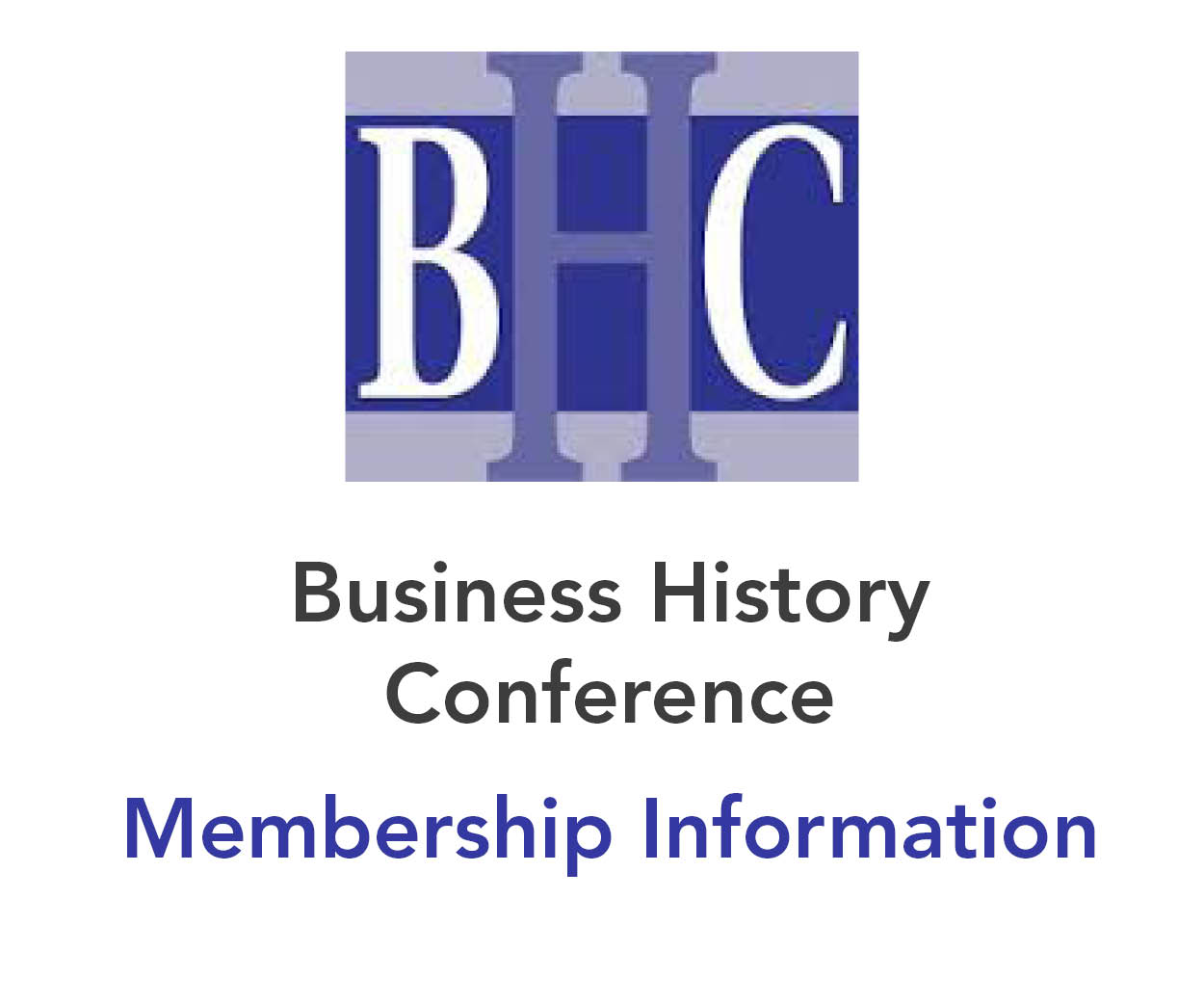 Business History conference - Membership Information