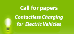 Call for Papers: Contactless Charging for Electric Vehicles. A Special Issue of Wireless Power Transfer - Submission Deadline: 30th April, 2017
