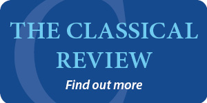 Classical Review CAR banner