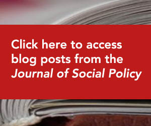 Access blog posts from the Journal of Social Policy
