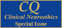 CQH Special Issue: Neuroethics - first annual issue published