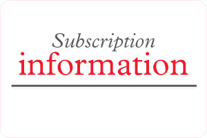 Annales subscription information NEW