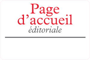 Annales editorial homepage - French