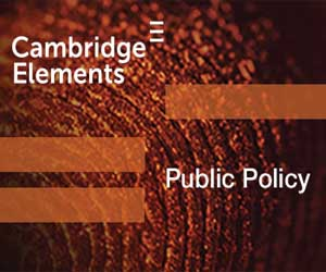 Cambridge Elements - Public Policy banner