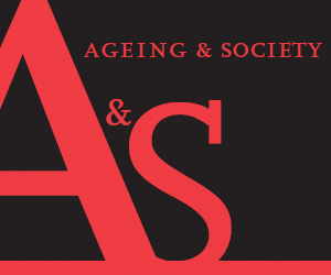 Ageing & Society Core banner