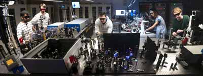 """Movies"" of electron motion in solar cell made using femtosecond lase"