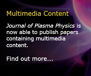 Journal of Plasma Physics Multimedia Button