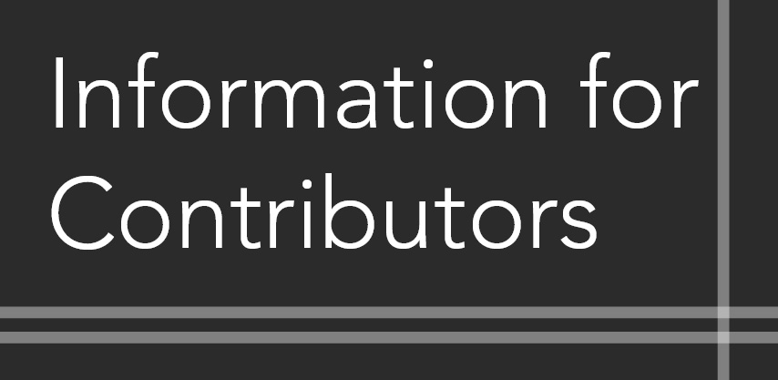 Information for Contributors button for Modern American History journal
