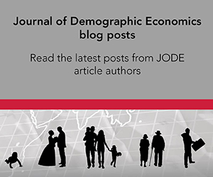 Journal of Demographic Economics - Link to blog posts
