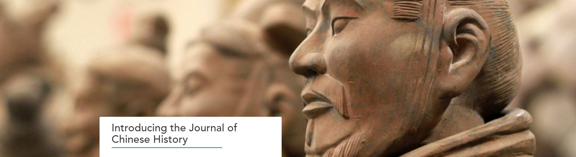 Link to Introducing the Journal of Chinese History blog post