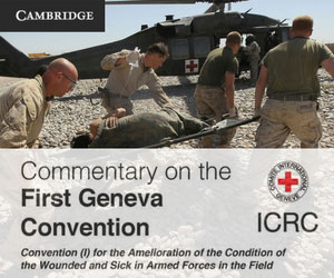 Geneva Convention banner 1216 ii