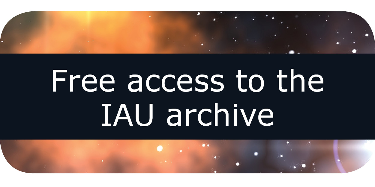 View more publications from the International  Astronomical Union