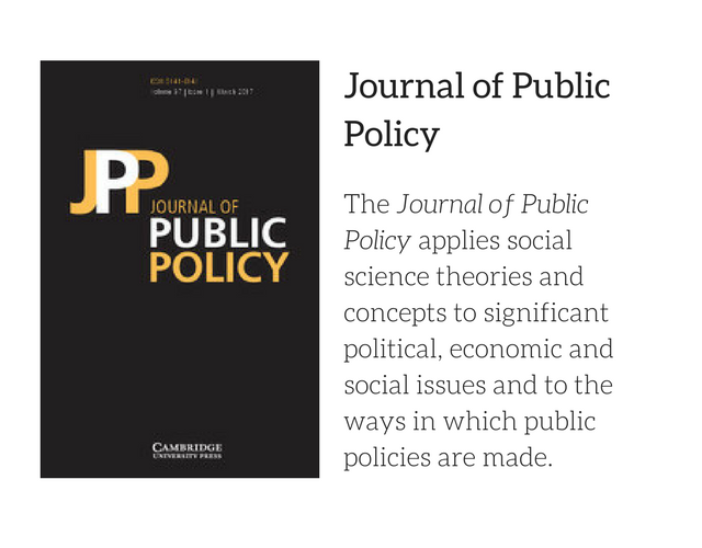 JPP for Policy page