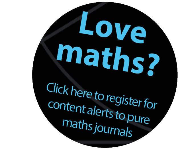 Pure maths content alerts banner