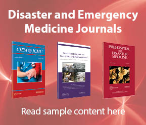 Journals in Disaster and Emergency Med