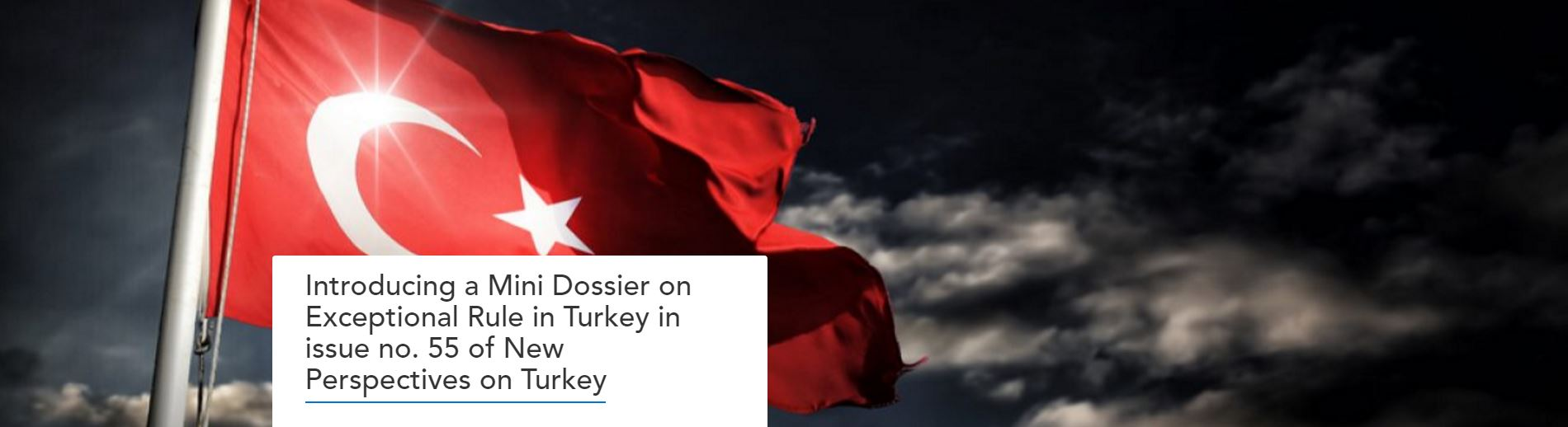 New Perspectives on Turkey Exceptional Rule