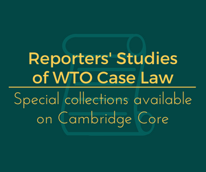 WTR Reporters' Studies collection