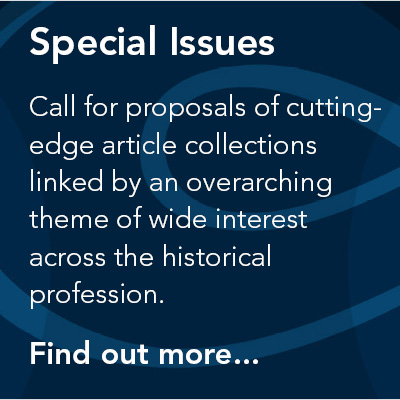 Special issues in the Historical Journal